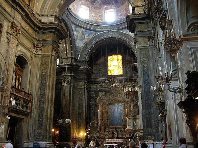 interno chiesa santa brigida