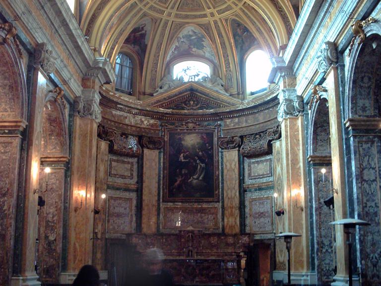 Interno Chiesa di Santa Caterina da Siena