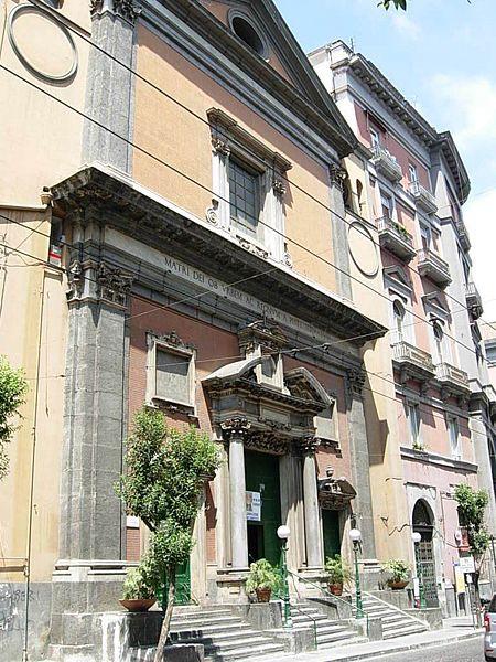 facciata chiesa santa maria di costantinopoli