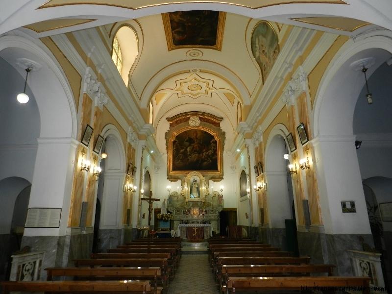 interno Chiesa di Sant'Antonio Abate