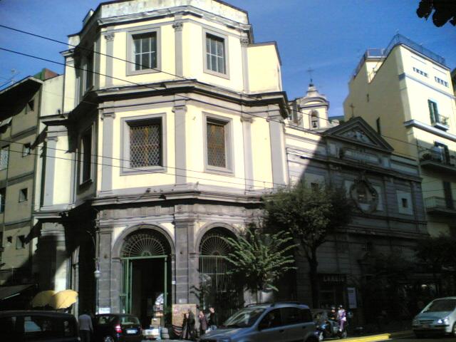 facciata chiesa di Santa Maria Egiziaca all'Olmo a Forcella