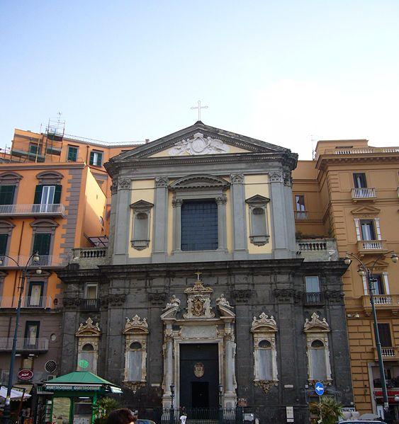 facciata chiesa san ferdinando