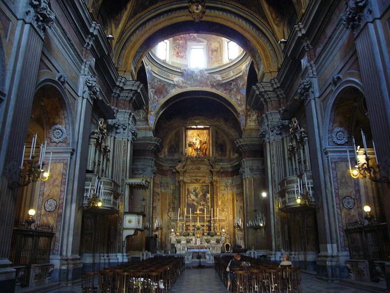 interno chiesa san ferdinando