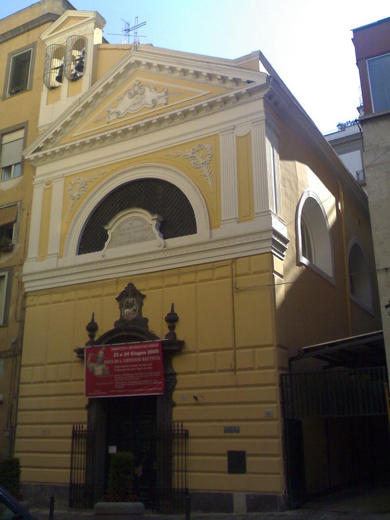 facciata Chiesa di San Giovanni in Corte