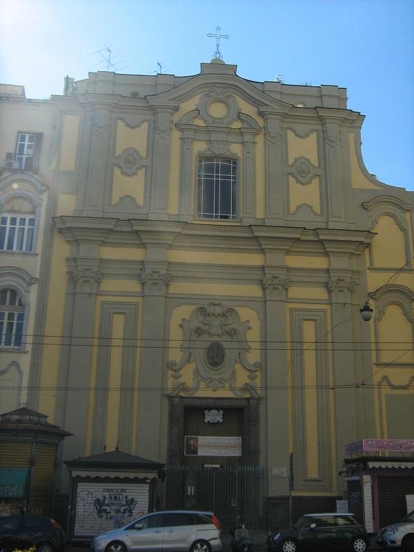facciata Chiesa di Santa Maria di Caravaggio