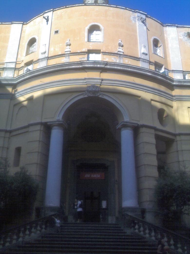 facciata Chiesa di Santa Maria Egiziaca a Pizzofalcone