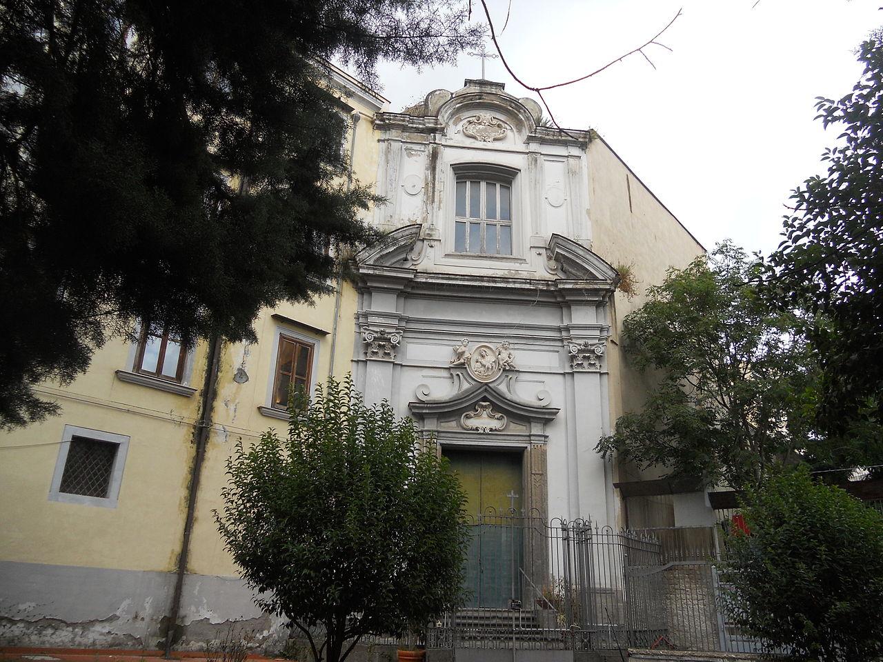 facciata chiesa santa maria delle grazie a Mondragone