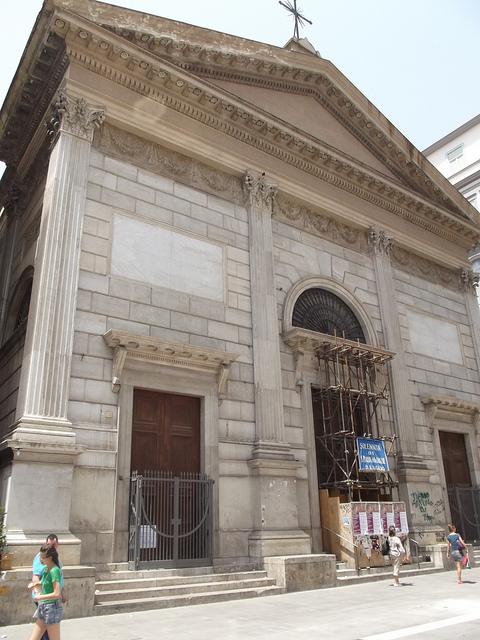 facciata chiesa santa maria delle grazie a Toledo