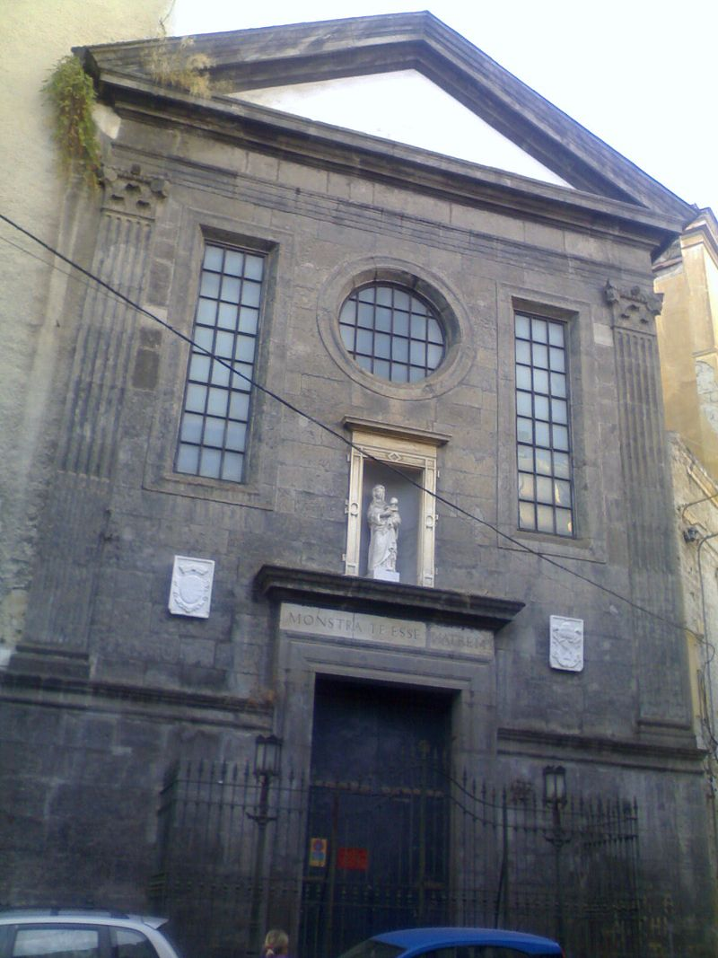 facciata Chiesa di Santa Maria Materdomini