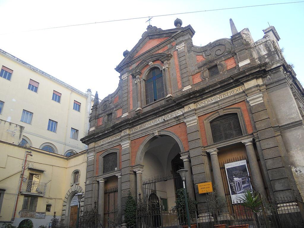 facciata Chiesa di Santa Maria in Portico