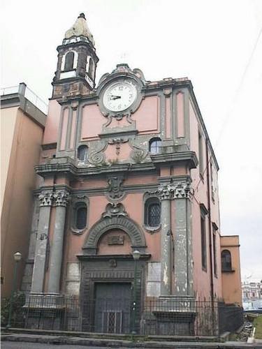 facciata Chiesa di Santa Maria di Portosalvo