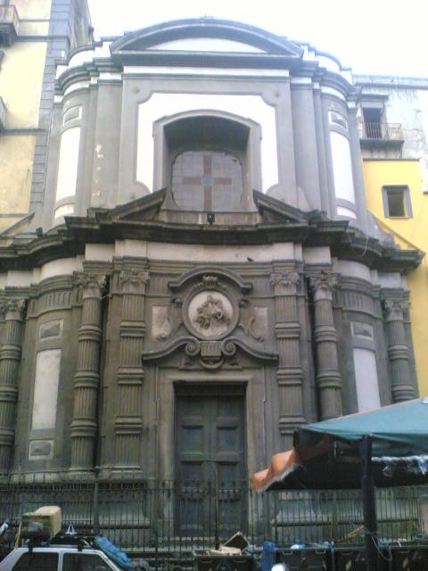 facciata Chiesa di Santa Maria Succurre Miseris ai Vergini