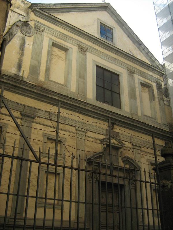 facciata chiesa santa maria di monteverginella