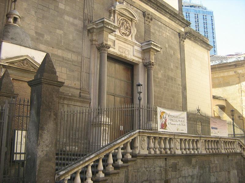 facciata chiesa santa maria la nova