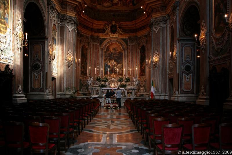 Interno Chiesa della Santissima Annunziata o della Nunziatella