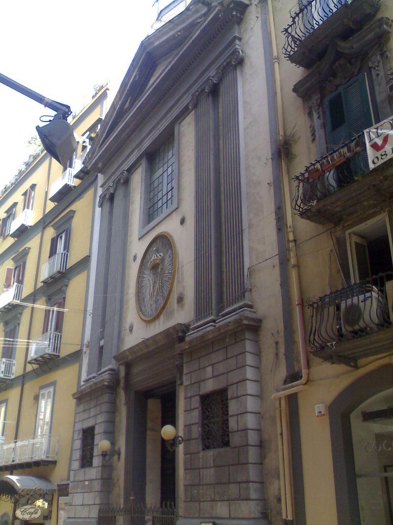 facciata Chiesa di Sant'Orsola a Chiaia