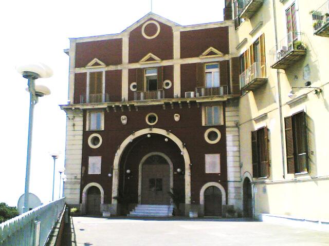 facciata chiesa santa maria del parto