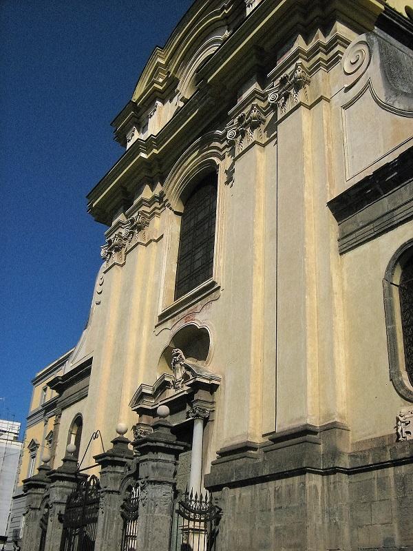 facciata chiesa santi severino e sossio