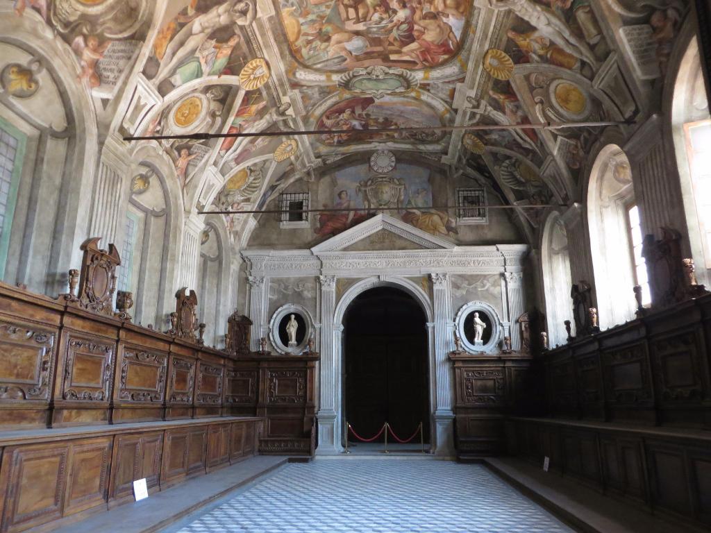 sagrestia chiesa santi severino e sossio