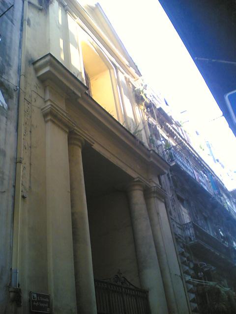 facciata Chiesa di Santa Teresella degli Spagnoli