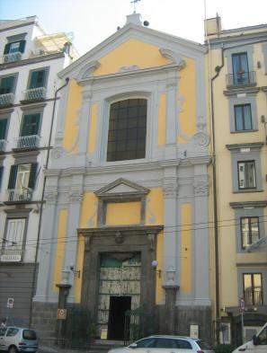 facciata chiesa della pietà dei turchini a napoli