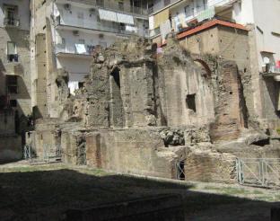 resti archeologici carminiello ai mannesi