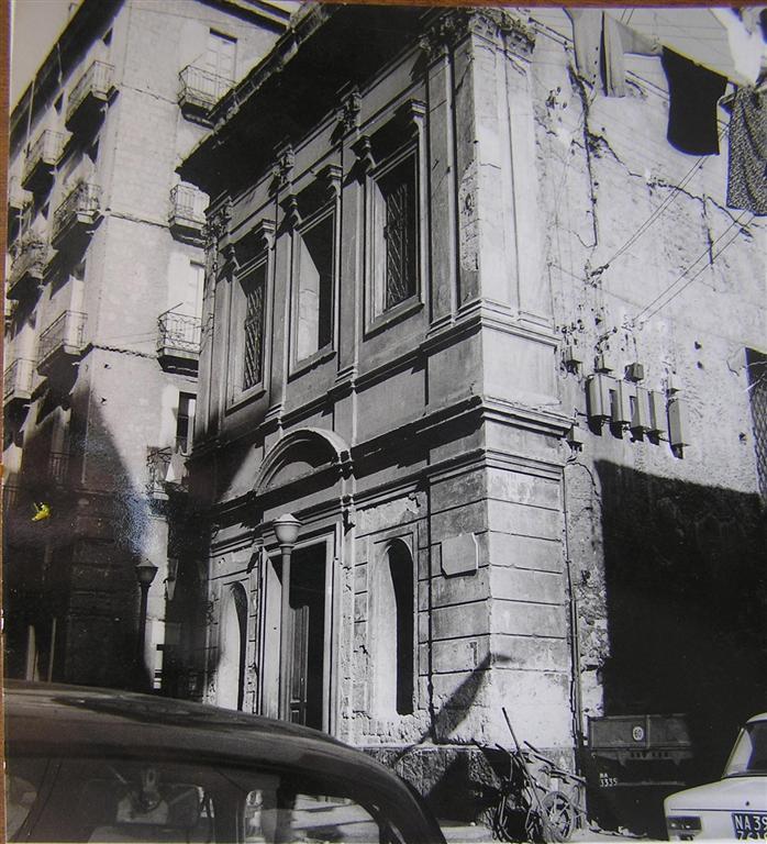 facciata Chiesa di Santa Maria delle Grazie dei Pescivendoli