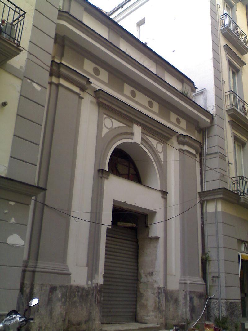 facciata Chiesa di Santa Maria di Monserrato