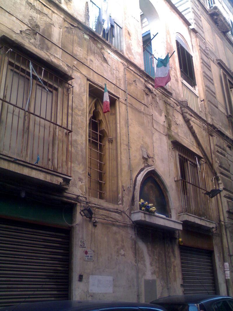 facciata Chiesa di Santa Maria Porta Coeli