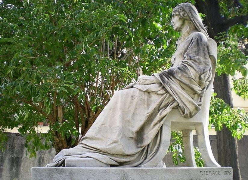 Monumento funebre a Mary Somerville - Francesco Jerace