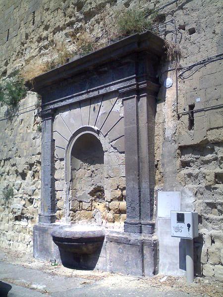 fontana al capo di posillipo napoli