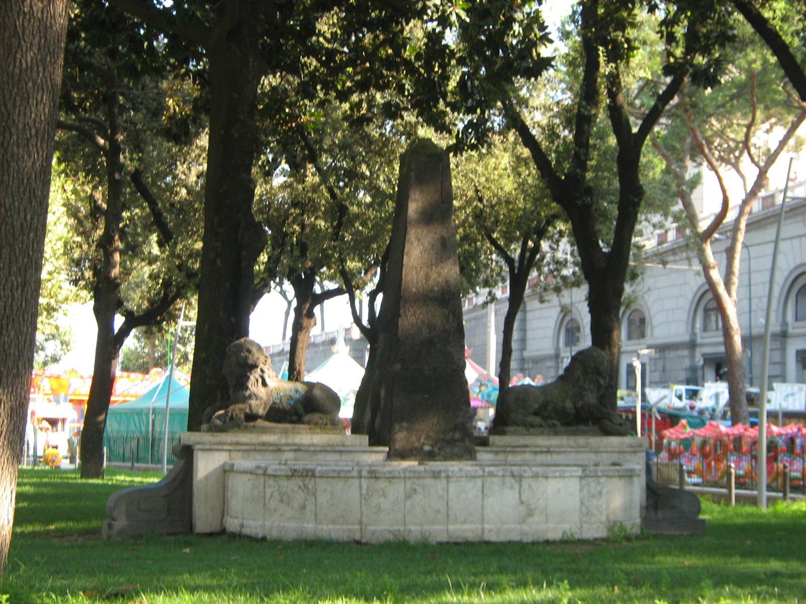 fontana dei leoni napoli