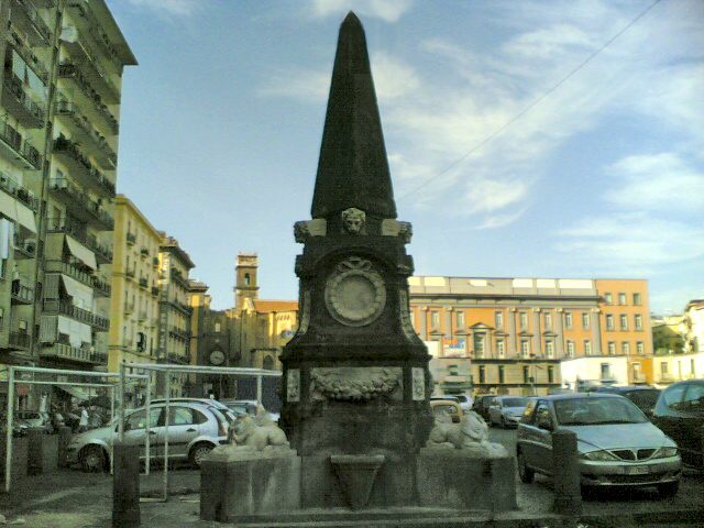 fontana piazza mercato napoli