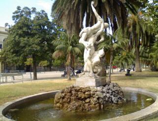fontana del ratto delle sabine napoli