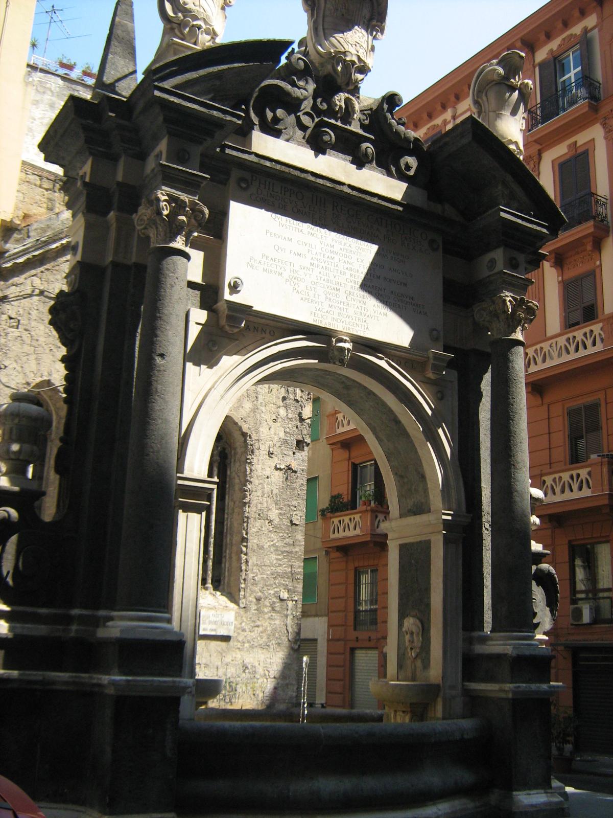 fontana della sellaria napoli
