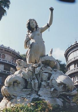 Fontana della sirena a napoli - Immagini della vera sirena ...