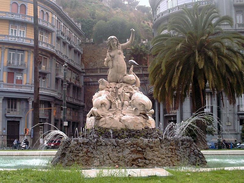fontana della sirena napoli