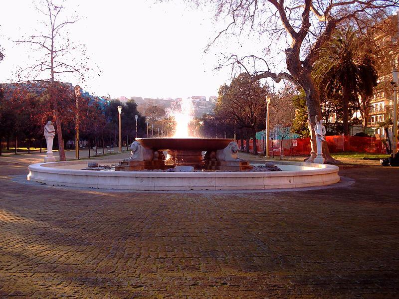 fontana della tazza di porfido