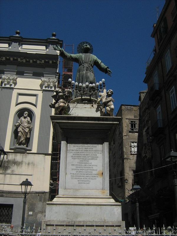 obelisco san Gaetano napoli