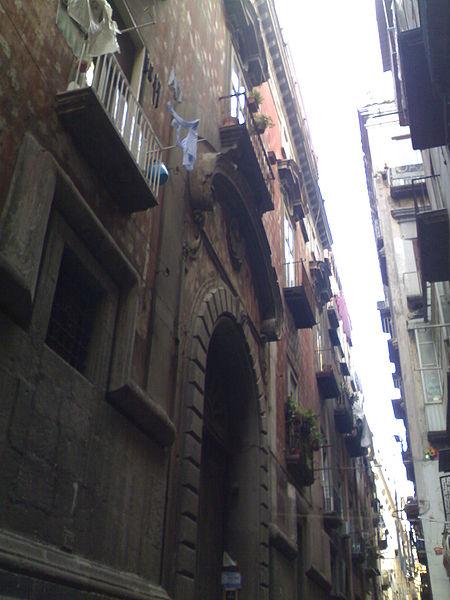 facciata palazzo acquaviva duca d'atri napoli