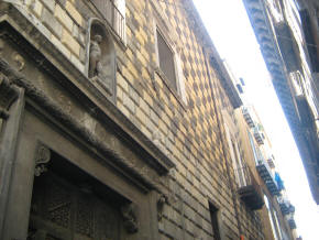 faccaiata palazzo carafa columbrano napoli
