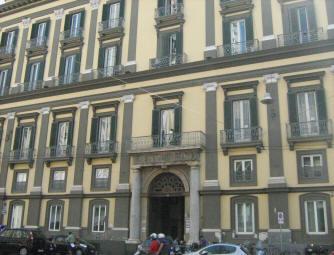 Palazzo Carafa di Nocera o Falanga-Montuori a napoli