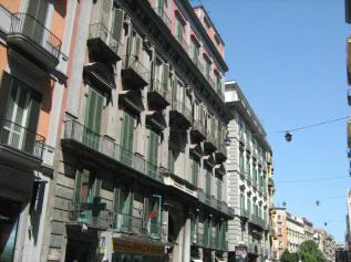 facciata palazzo cavalcanti a napoli