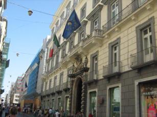 facciata palazzo colonna di stigliano