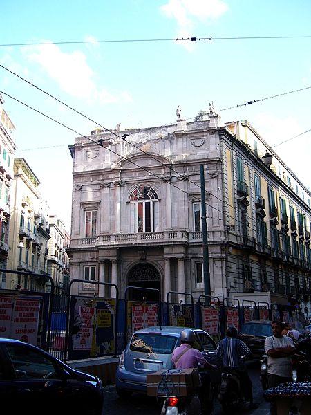 facciata palazzo doria d'angri napoli