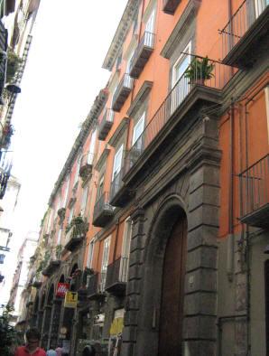 facciata palazzo spinelli di laurino