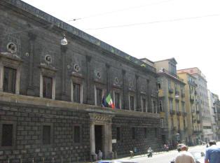 facciata palazzo orsini di gravina a napoli