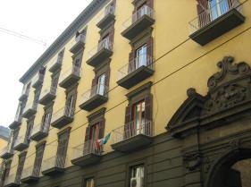 facciata palazzo del conservatorio dello spirito santo