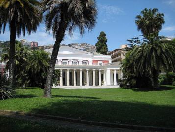 esterno villa pignatelli acton a napoli