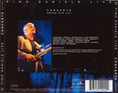 pino daniele Concerto Medina Tour 2001 retro
